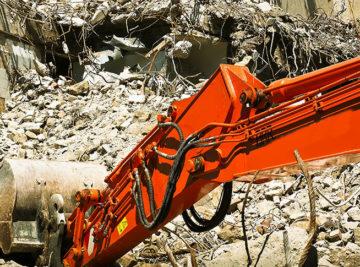 Costo demolizione edile: casa, edificio o fabbricato